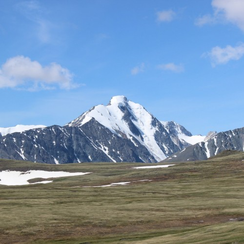 Adventure trek around Mongol Altai mountains