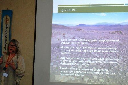 Газрын доройтол, цөлжилтийг бууруулах чиглэлээр Исландын туршлагаас суралцаж байна
