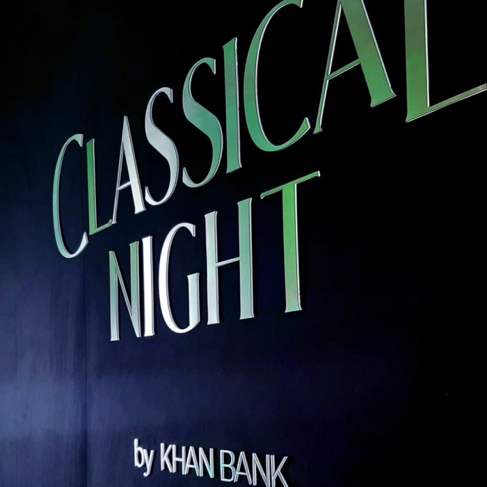 Classical Night by KHAN BANK