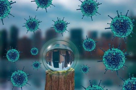 Шинэ коронавирус агаараар дамжин тархаж байгаа