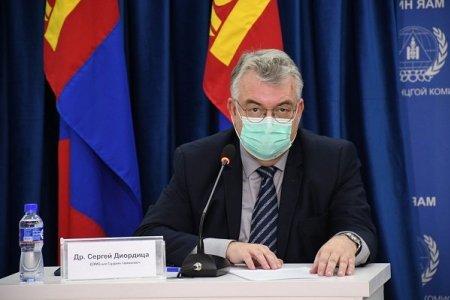 Сергей Диордица: Халдварын эрчмийг багасгаж, эндэгдлийн тоог бууруулах шаардлагатай байна