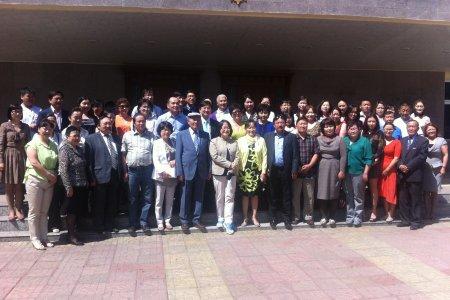 Moнгол-Солонгосын бөөрний сувилагч нарын хамтарсан хурал  2013 он
