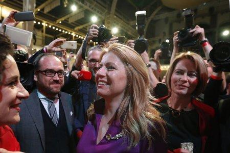 Словак улс эмэгтэй Ерөнхийлөгчтэй боллоо