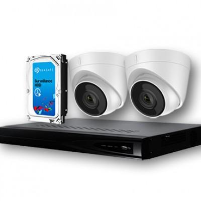 Дуу бичдэг POE-той 2 камерын багц