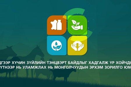 Nomadic livestock husbandry in Mongolia