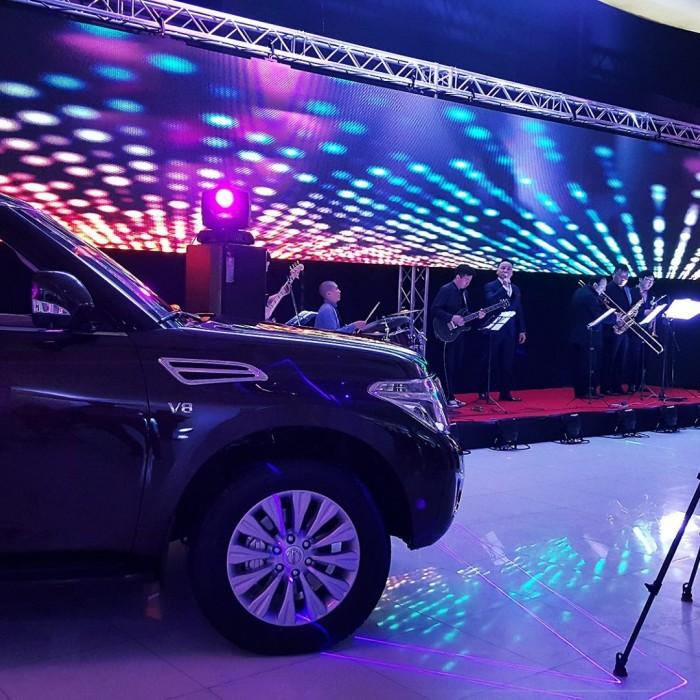 Nissan Patrol Y62 хүлээн авалт