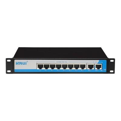 HRUI 8 port POE switch