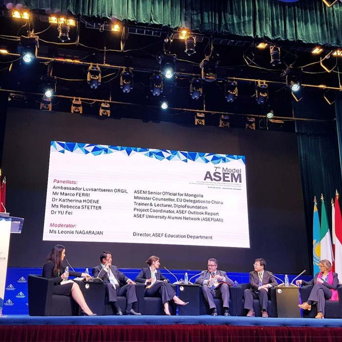 ASEM - Asia Europe Meeting 11 forum