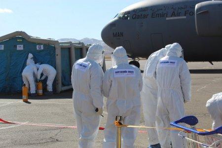 Катар Улсаас Монгол цэргүүдийг тээвэрлэж ирсэн тусгай үүргийн онгоц газардлаа