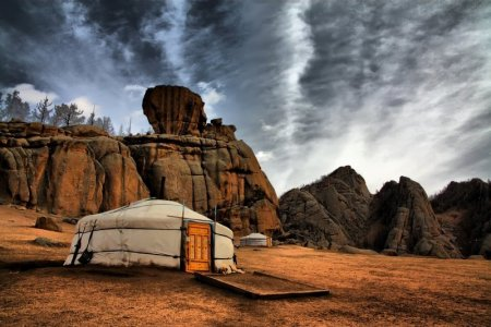 The Symbolic Mongolian Ger