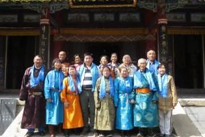 Тавантолгой ХК-ны ахмадууд Бээжин Утай-гүмбэнд аялаад ирлээ.
