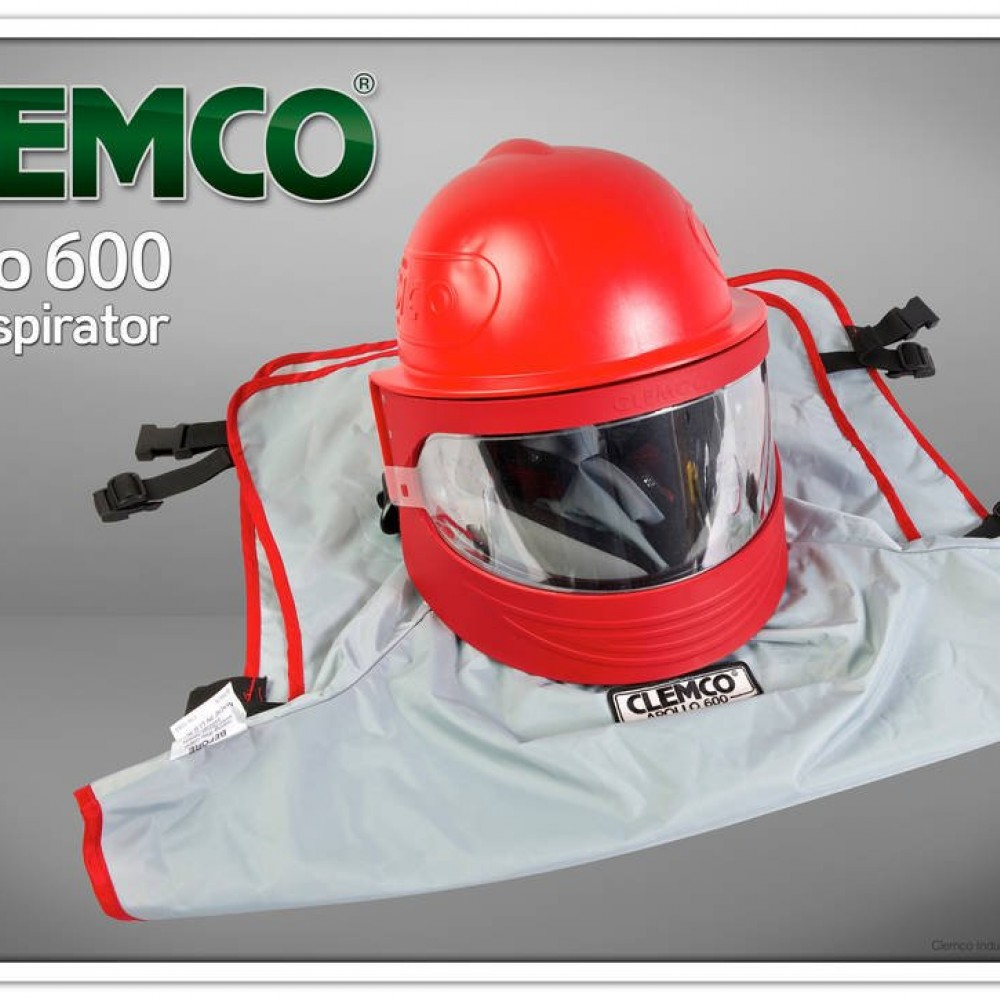 Clemco - Apollo 600 HP and LP/Supplied-Air Respirator