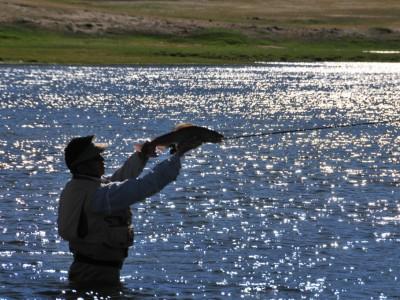 Fishing trip , Delgermurun river for 13 days