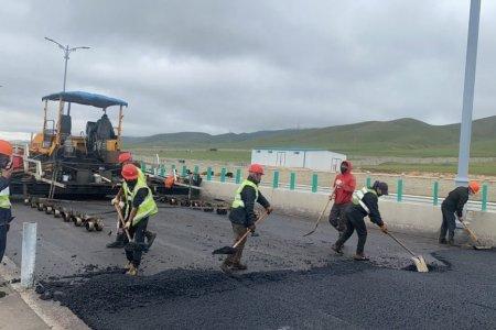 Улаанбаатар-Налайх чиглэлийн 20.9 км зам засварын ажил 90 орчим хувийн гүйцэтгэлтэй байна