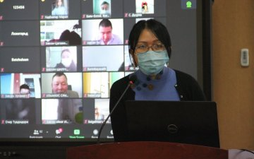 THE SCHOOL OF VETERINARY MEDICINE OF THE MONGOLIAN UNIVERSITY OF LIFE SCIENCES ESTABLISHED A SMART DISTANCE-LEARNING HALL AND ORGANIZED THE FIRST TRAINING