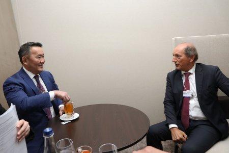 Ерөнхийлөгч Дэлхийн усны нөөцийн группын дарга Пол Балкег хүлээн авч уулзлаа