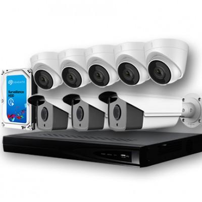 Хяналтын камерны багц: 8 камертай