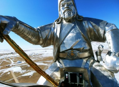 Terelj NP - Genghis Khan Equestrian Statue