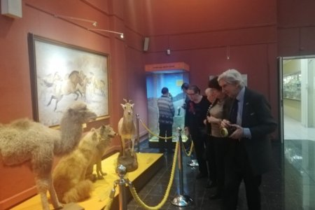 Mongolian-Russian biological expedition opens exhibition