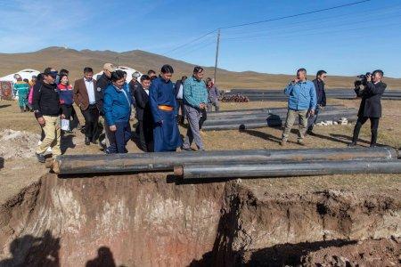 Хэнтий аймгийн зургаан суманд дулаан, цэвэр усны шугам ашиглалтад орно