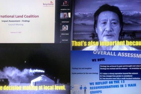 Олон Улсын Газрын эвслийн цахим хуралд МБАНХ-ны төлөөлөл оролцлоо