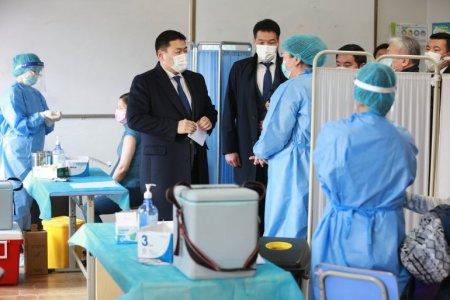 Монгол Улсын Ерөнхий сайд Л.Оюун-Эрдэнэ өнөөдөр ХӨСҮТ, Улсын II төв эмнэлэгт ажиллана.