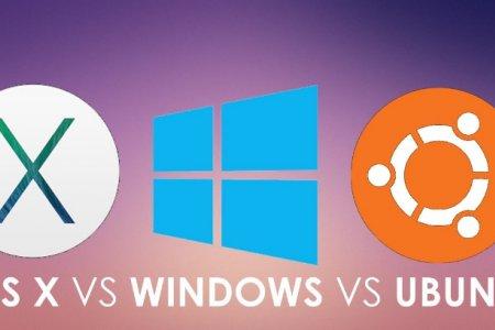Түгээмэл хэрэглэгддэг үйлдлийн систем болох MAC, Windows, Linux –ын харьцуулалт
