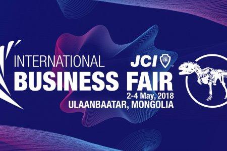 """""""2018 JCI INTERNATIONAL BUSINESS FAIR """"  үзэсгэлэнг зохион байгуулахад дэмжлэг үзүүллээ."""