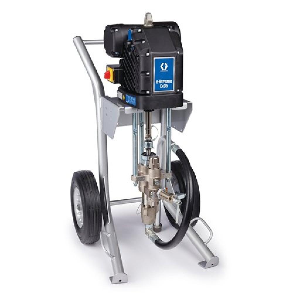 24Z903 - e-Xtreme EX35 Electric Airless Sprayer, Cart-Mount, XTR-5 Gun, 3/8 in. x 15 m (50 ft) Hose, 1/4 in. x 1.8 m (6 ft) Whip Hose шүршигч төхөөрөмж