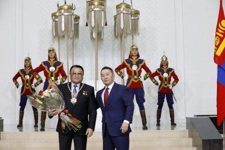 Монгол Улсын Хөдөлмөрийн баатар, сансрын нисгэгч Ж.Гүррагчаад