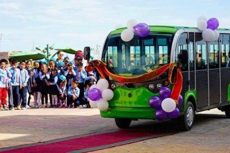ДОРНОД: Эко автобус сурагчдад үйлчилж эхэллээ