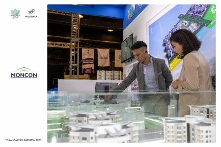 """Монкон Констракшн ХХК """"Улаанбаатар Барилга Экспо- 2021"""" үзэсгэлэнд оролцож байна"""