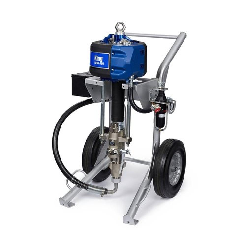 K30FH2 - King 30:1 Sprayer, Integrated Filter, Heavy Duty Cart, Air Controls, Siphon Kit, XTR-5, 15 m (50 ft) Hose, 1.8 m (6 ft) Whip, Lubricator шүршигч төхөөрөмж