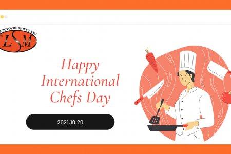 Happy International Chefs Day