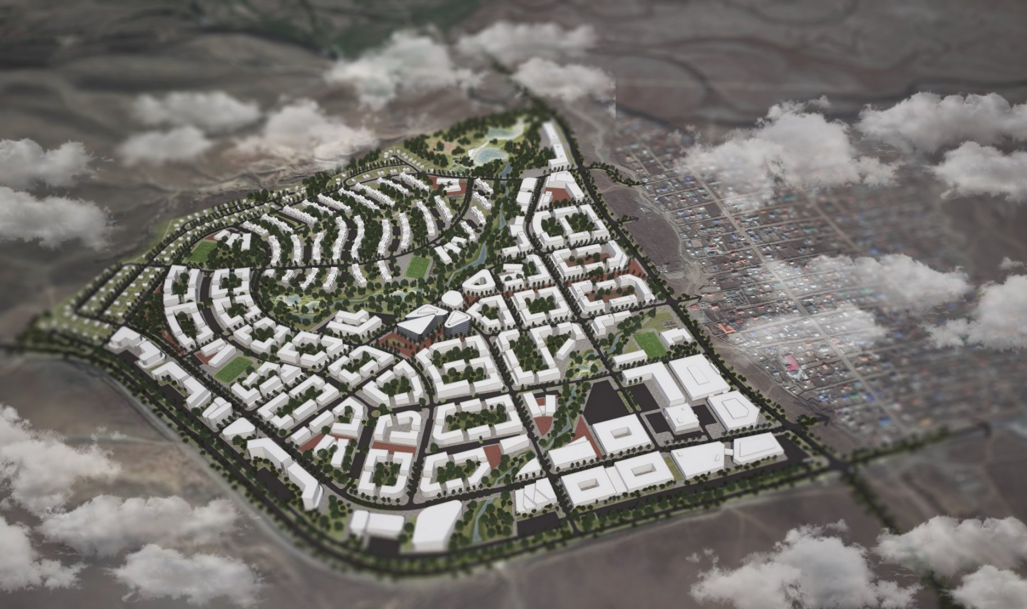 Морингийн даваа орчмын шинэ суурьшлын бүсийн хот төлөвлөлтийн суурь судалгаа, хэсэгчилсэн ерөнхий төлөвлөгөө боловсруулах