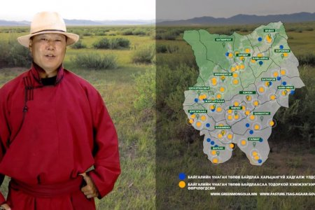 RANGELAND STATE AND TRANSITION MODEL OF KHENTII AIMAG