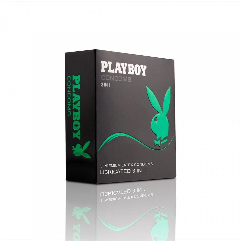 Бэлгэвч PlayBoy Холимог, 3 ширхэгтэй