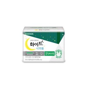 Kotex торгомсог шөнийн ариун цэврийн хэрэглэл 33см / 12ш