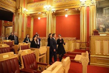 Ерөнхийлөгч Х.Баттулга, Норвегийн Парламентын Ерөнхийлөгч хатагтай Тоне Уихельмсен Троэн нар уулзлаа