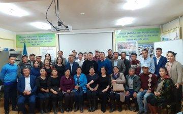 MOCCU СЗХ хамтран Баян-Өлгий аймагт бүсийн сургалт зохион байгууллаа