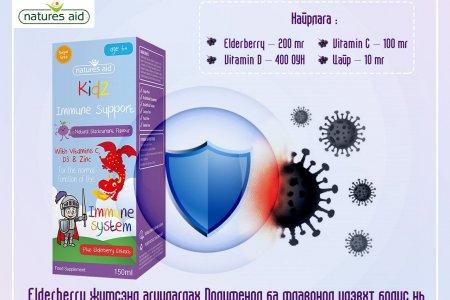 Elderberry жимс вирусын эсрэг үйлдэлтэй нь батлагдсан