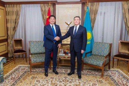 У.Хүрэлсүх: Энэ удаагийн айлчлал Монгол, Казахстаны харилцаанд шинэ хуудас нээлээ