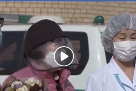 Шууд: Шинэ коронавируст Covid-19 халдвараар өвчилсөн 2 Монгол иргэн бүрэн эдгэж эмнэлгээс гарлаа