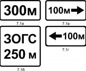 Объект хүртлэх зай - 7.1а,б,в,г