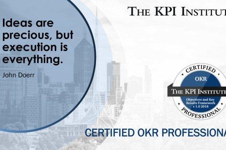 Certified OKR Professional онлайн сургалт анх удаа зохион байгуулагдлаа