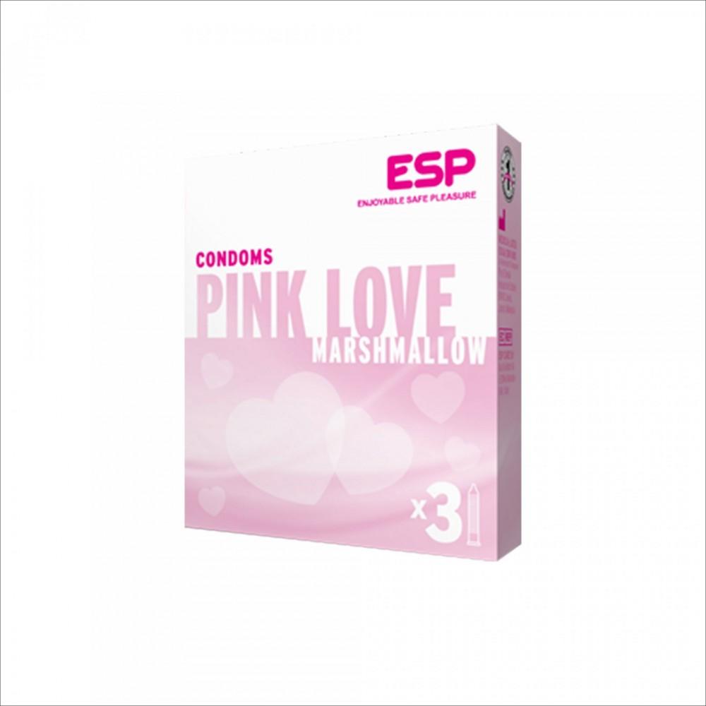 Бэлгэвч PINK LOVE marshmallow 3's 4055 ESP