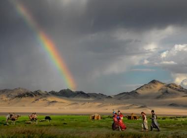 蒙古中部,戈壁(蒙古南部)