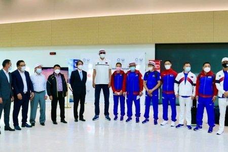 Олимпод оролцох Монголын баг тамирчид бүхий 72 хүн өнөөдөр Токиог зорив
