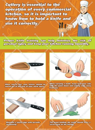 Chef knife safety