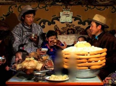 Celebrating Mongolian Traditional New Year With The Local Nomads